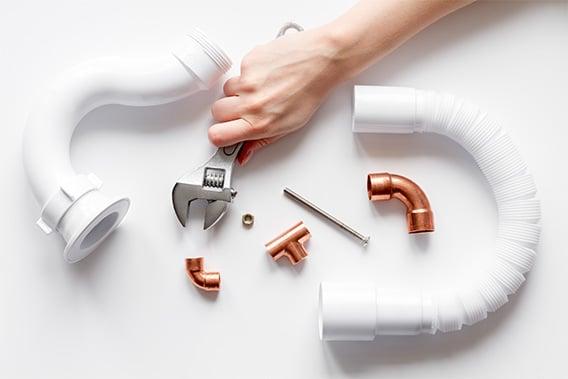 outils pour le raccordement de plomberie
