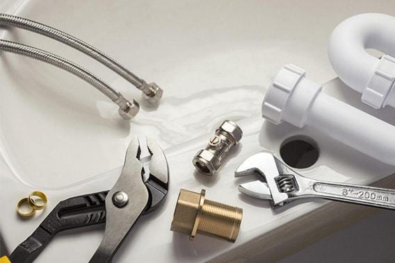 matériels pour travaux de plomberie