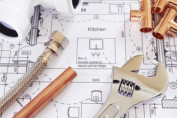 Plan et matériels plomberie